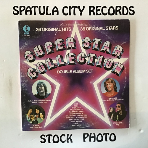 K-Tel presents Super Star Collection - compilation - double vinyl record LP
