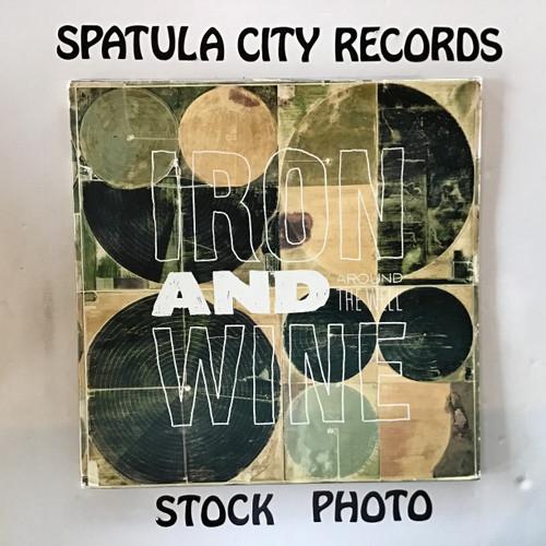 Iron and Wine - Around the World - triple vinyl record LP
