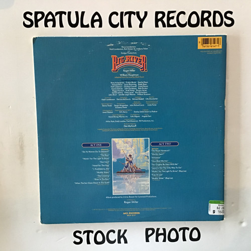 Big River: The Adventures of Huckleberry Finn - soundtrack - vinyl record LP