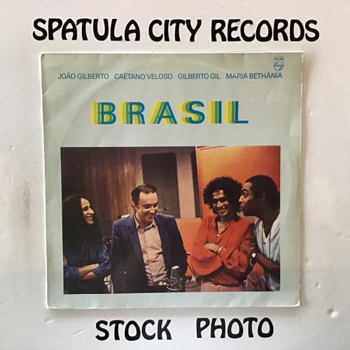 Joao Gilberto, Caetano Veloso, Gilberto Gil and Maria Bethania - Brasil - IMPORT - vinyl record LP