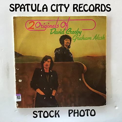 David Crosby and Graham Nash - 2 Originals of David Crosby and Graham Nash - IMPORT - double vinyl record LP