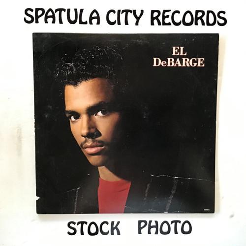 El DeBarge - El DeBarge - PROMO - vinyl record LP
