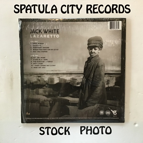 Jack White - Lazaretto - vinyl record LP