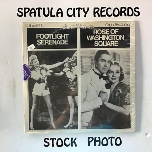Rose of Washington Square/Footlight Serenade - compilation - soundtrack - SEALED - vinyl record LP