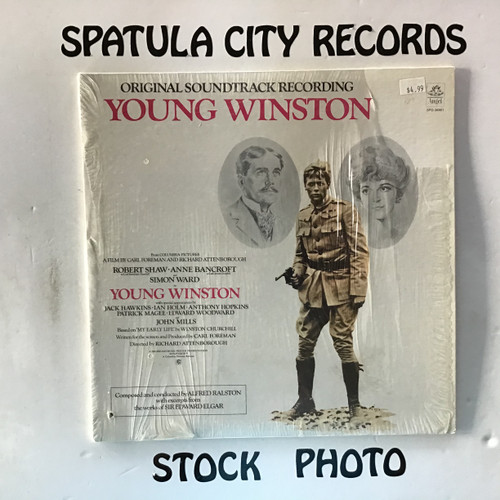 Alfred Raston - Young Winston - soundtrack - vinyl record LP