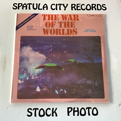 Leith Stevens - The War of The Worlds/When Worlds Collide - soundtrack - SEALED - vinyl record LP