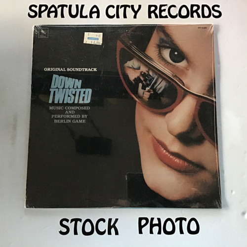 Berlin Game - Down Twisted - soundtrack - SEALED - vinyl record LP