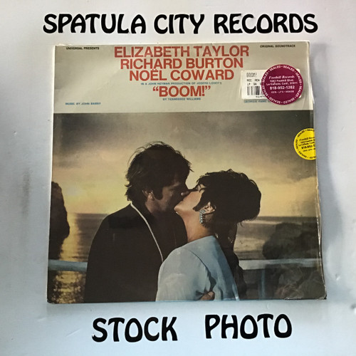 John Barry - Boom! - soundtrack - SEALED - vinyl record LP