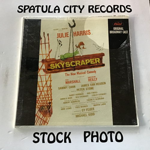 Skyscraper - soundtrack - SEALED - vinyl record LP