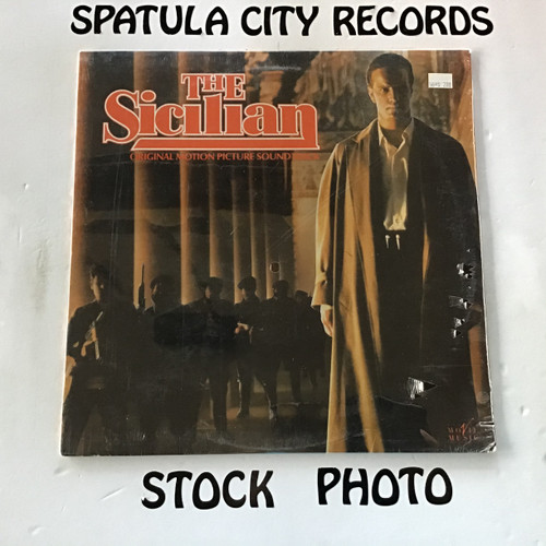 David Mansfield - The Sicilian - soundtrack - SEALED - vinyl record LP