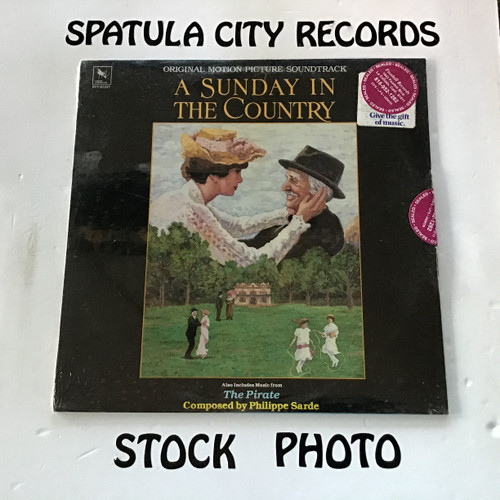 Philippe Sarde - A Sunday In The Country - soundtrack - SEALED - vinyl record LP
