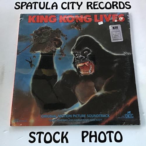 John Scott/Graunke Symphony Orchestra - King Kong Lives - soundtrack - SEALED - vinyl record LP