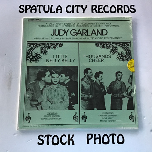 Judy Garland - Little Nelly Kelly/Thousands Cheer - soundtrack - SEALED - vinyl record LP