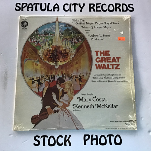 Great Waltz, The - compilation - soundtrack - SEALED - vinyl record LP