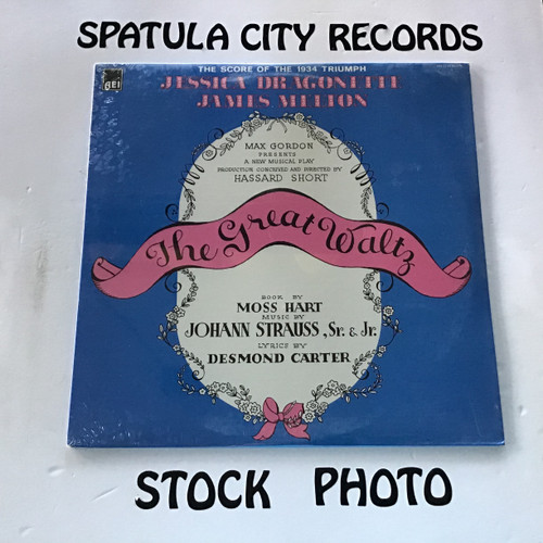 Jessica Dragonette, James Melton - The Great Waltz - soundtrack - SEALED - MONO - vinyl record LP