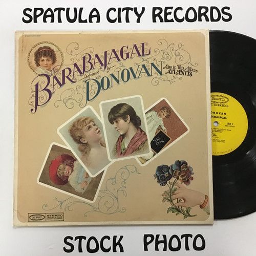 Donovan - Barabajagal - vinyl record LP