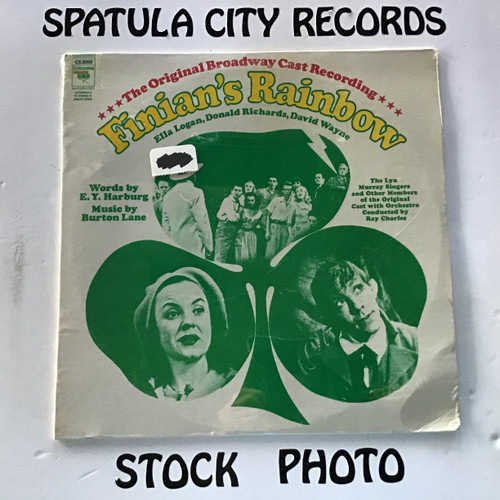 Ella Logan, Donald Richards, David Wayne - Finian's Rainbow - soundtrack - SEALED - vinyl record LP