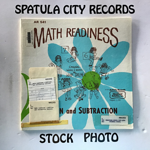 Hap Palmer - Math Readiness - Addition and Subtraction - vinyl record LP
