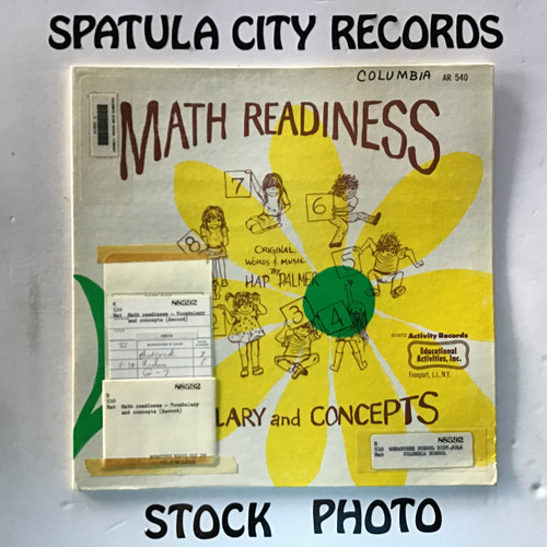 Hap Palmer - Math Readiness - Vocabulary and Concepts - vinyl record LP