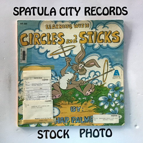 Hap Palmer - Learning with Circles and Sticks - vinyl record LP