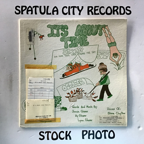 Steve Clayton and Gail Contini - It's About Time - vinyl record LP