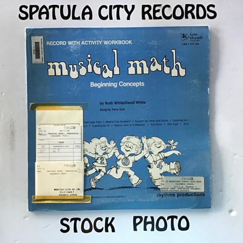 Ruth White/David White - Musical Math Beginning Concepts - vinyl record LP