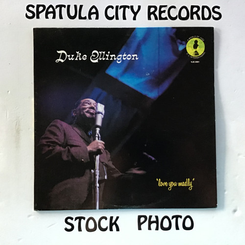 Duke Ellington - Love You Madly - vinyl record LP