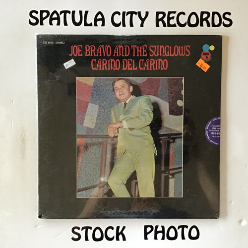 Joe Bravo and The Sunglows - Carino Del Carino - SEALED - vinyl record P