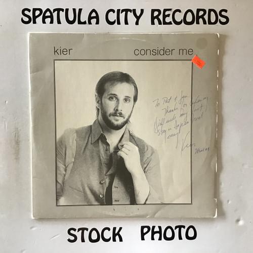 Kier - Consider Me - vinyl record LP