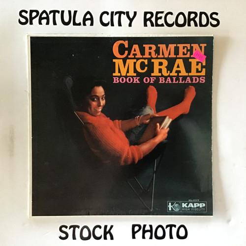 Carmen McRae - Book of Ballads - MONO - vinyl record LP