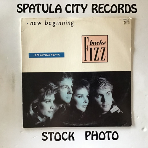 Bucks Fizz - New Beginning - PROMO - vinyl record LP