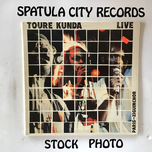 Toure Kunda - Live Paris Ziguinchor - vinyl record LP