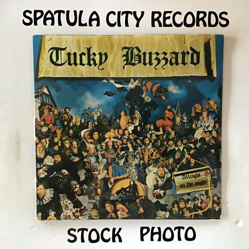 Tucky Buzzard - Allright On The Night - IMPORT - vinyl record LP
