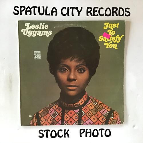 Leslie Uggams - Just To Satisfy You - vinyl record LP