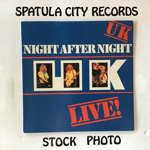 UK - Night After Night - PROMO - vinyl record LP