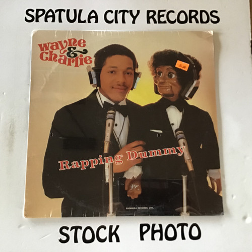 Wayne and Charlie (The Rapping Dummy) - Check It Out - SEALED - vinyl record LP