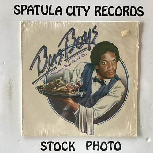 Bus Boys - Minimum Wage Rock and Roll - vinyl record LP