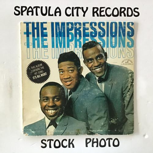 Impressions, The - The Impressions - MONO - vinyl record LP