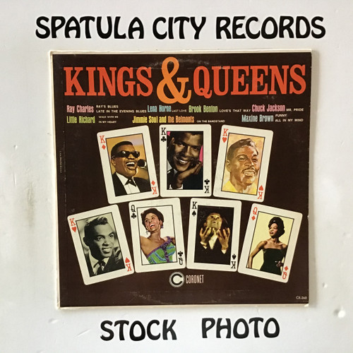 Kings and Queens - compilation - MONO - vinyl record LP