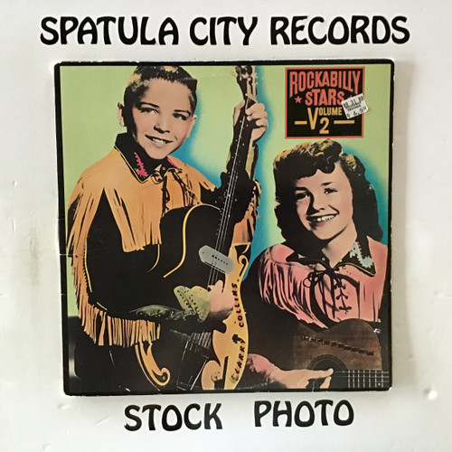 Rockabilly Stars, Volume Two - compilation - double vinyl record LP