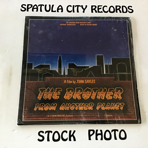Mason Daring - The Brother From Another Planet - soundtrack - vinyl record LP