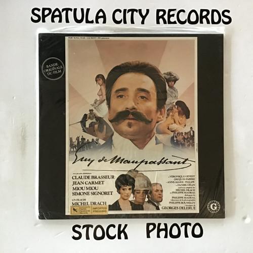 Georges Delerue - Guy De Maupassant - soundtrack - SEALED - IMPORT - vinyl record LP