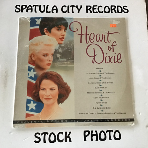 Heart of Dixie - compilation - soundtrack - SEALED - vinyl record LP