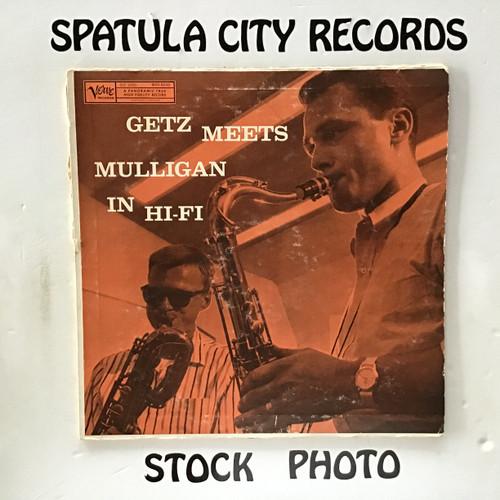 Stan Getz and Gerry Mulligan - Getz Meets Mulligan in Hi-Fi - MONO - vinyl record LP