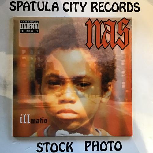 Naz - Illmatic -2004 180g Reissue - IMPORT -  vinyl record album LP