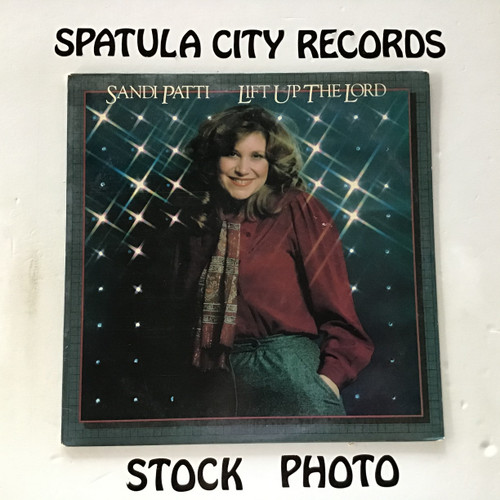 Sandi Patti - Lift Up the Lord - vinyl record LP