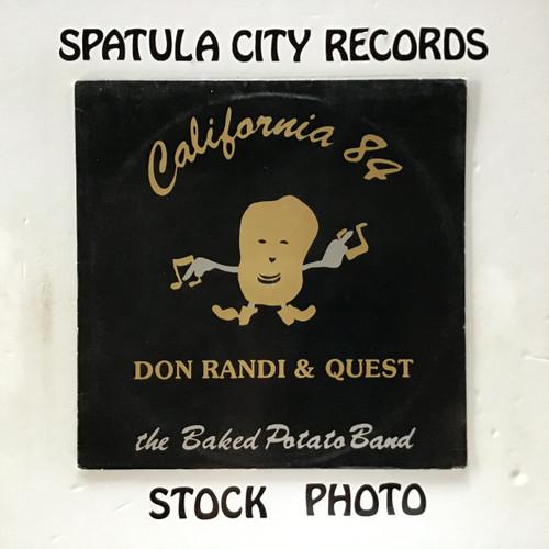 Don Randi and Quest - California 84 - vinyl record LP