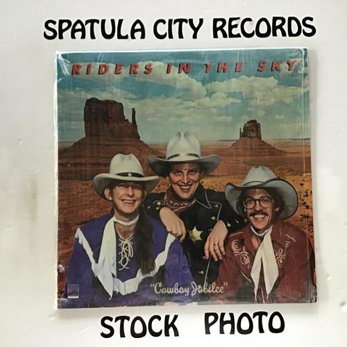Riders in the Sky - Cowboy Jubilee - vinyl record LP