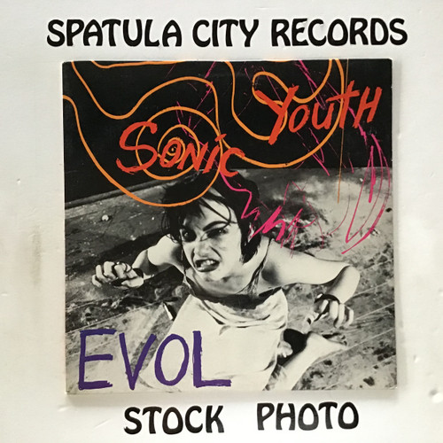 Sonic Youth - Evol - vinyl record LP