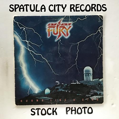 Stone Fury - Burns Like a Star - vinyl record LP